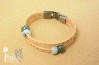 革紐のブレスレット