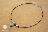 勾玉の珠飾(淡翠)